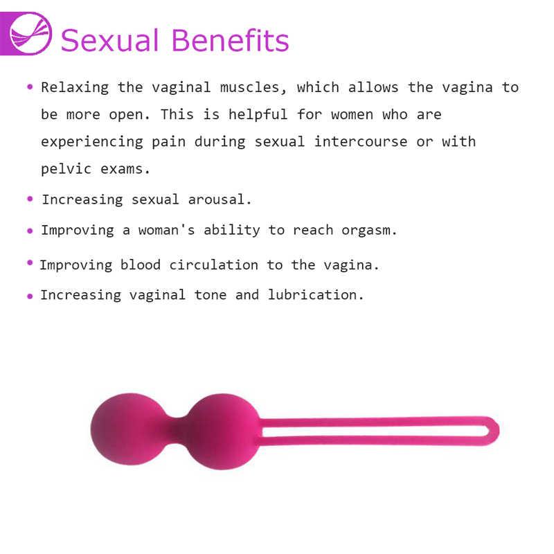 Del Silicone Astuto Palline di Kegel Vaginale Cinese Palle Giocattoli Del Sesso Per Adulti Donna La Vagina Stringere Contrazione Palla Intimo Prodotti Del Sesso