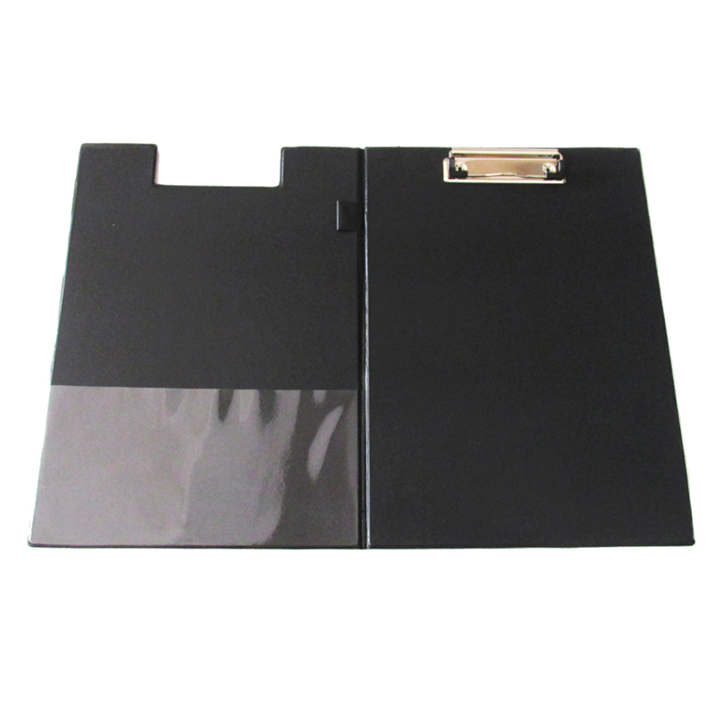 PPYY NEW -A4 Clipboard Foolscap Fold-Over Office Document Holder Filing Clip Board, Black Quantity:1 cewaal new design a4 photo laminator document hot
