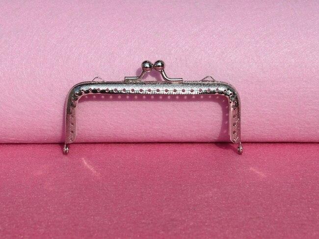 Mutter & Kinder MüHsam 10 Teile/los Diy 10,5 Cm Elegante Presse Silber Platz Metallgeldbeutel-rahmen Griff Für Tasche Sewing Tailor Kanalisation