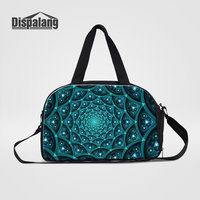 Dispalang Women Fashion Travel Trolley Bags 3D Geometry Pattern Carry On Luggage Duffle Weekend Overnight Bag Handbags Wholesale