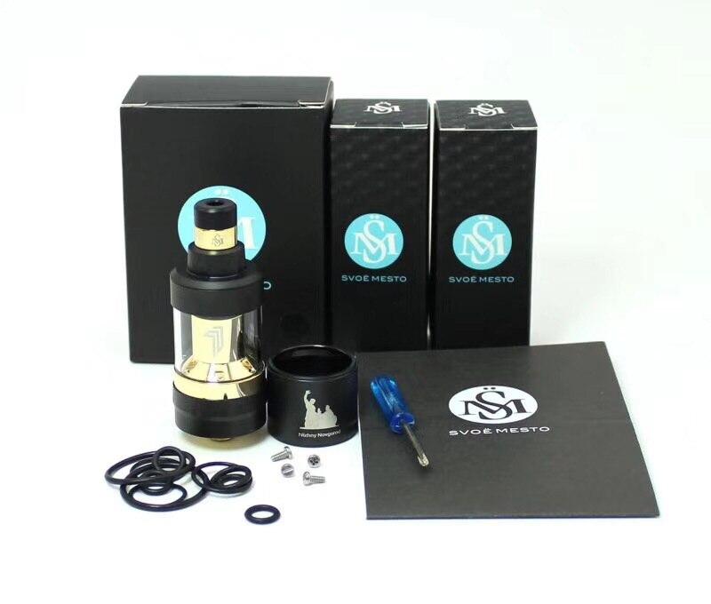 SXK Edition Kayfun Prime RTA Atomizer Electronic Cigarette 2ml Kayfun MTL KF6 V6 Rebuildable Mech Tank for E Mechanical Vape Kit