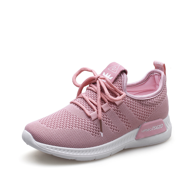 ONKE Ultra Light Breathable Mesh Running Shoes Pink Shoes Women Soft Comfortable Outdoor Sport Sneakers Summer Fitness Female