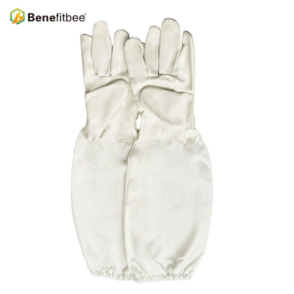 Image 5 - Becitbee брендовые пчеловодческие перчатки из искусственной кожи перчатки для пчеловодов защитные рукава пчеловодческий перчатки оборудование для выращивания-in Инструменты для пчеловодства from Дом и животные