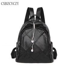 2017 100% натуральная мягкая овчина натуральная кожа Для женщин рюкзак для отдыха Стиль женская сумка гарнитура рюкзак девушка школы Mochila