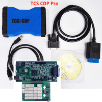 Multidiag Pro High Quality Single Green Board CDP TCS OBDII Interface Scanner For CAR TRUCK Generic