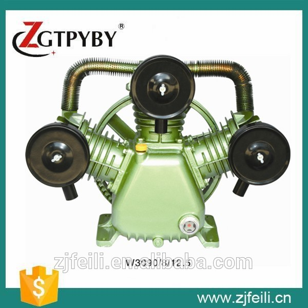 V2090/8/12.5  220V/380V 4KW portable piston belt driven air compressor piston  head for air compressor portable air compressor 8l air pool cylinder noisy less light tool 0 7mpa pressure economic speciality of piston filling machine
