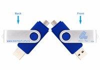 LEIZHAN флэш накопитель USB otg и 4 ГБ 8 ГБ 16 ГБ ключ флешки персонализированные логотип