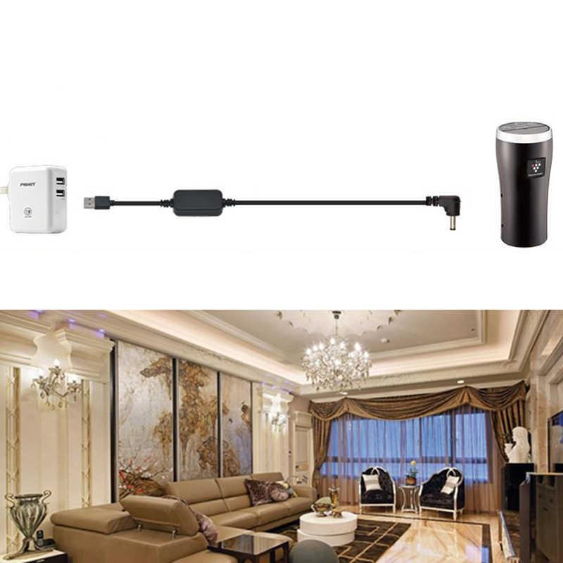 New USB Port to 12V Car Cigarette Lighter Socket Female Power Cord Converter Adapter Wired Controller