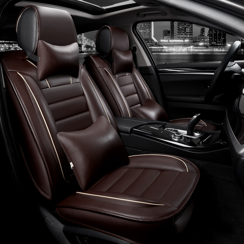Luxury Leather Car Seat Covers Universal Automotive Seat