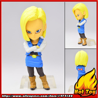 100 Original BANDAI Tamashii Nations ADVERGE 02 Collection Toy Figure Android No 18 From Dragon Ball