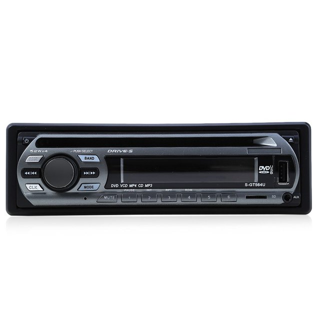 Newest 12V Car Stereo FM Radio MP3 Audio Player Support FM USB SD DVD Mp3 Player AUX Mic with Remote Control radio In-Dash 1 DIN