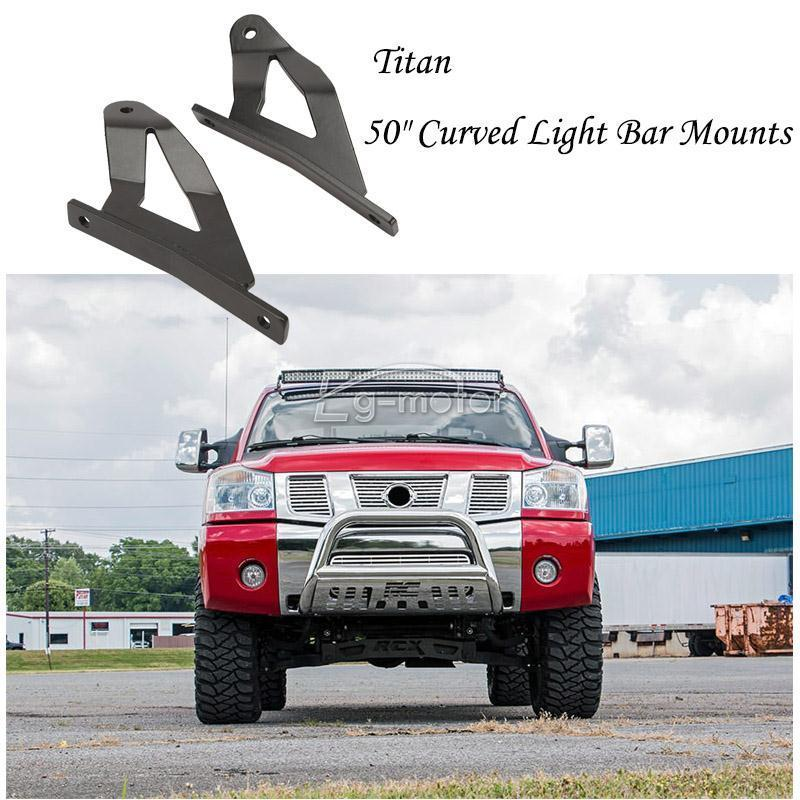 2x roof windshield 50 curved light bar brackets for 04 14 nissan 2x roof windshield 50 curved light bar brackets for 04 14 nissan titan pro 4x in universal car bracket from automobiles motorcycles on aliexpress mozeypictures Gallery