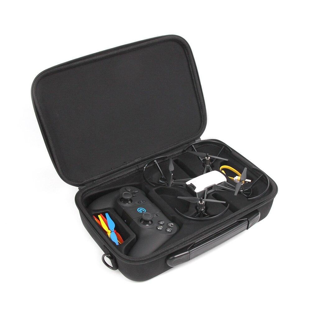 Sunnylife Portable Shoulder Case Bag Combo Box for RYZE DJI Tello Drone and Tello Remote Control Handbag Accessories
