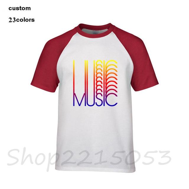 2018 New Music band Men's t-shirt rock guitar club park Men clothing tshirt custome logo gift clothes male black tee t shirts