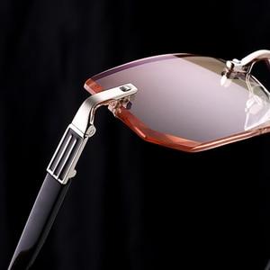Image 5 - Ultra leve óculos de leitura sem aro dos homens anti azul ray marca designer amarelo computador lupas + 1.5 2.0 2.5