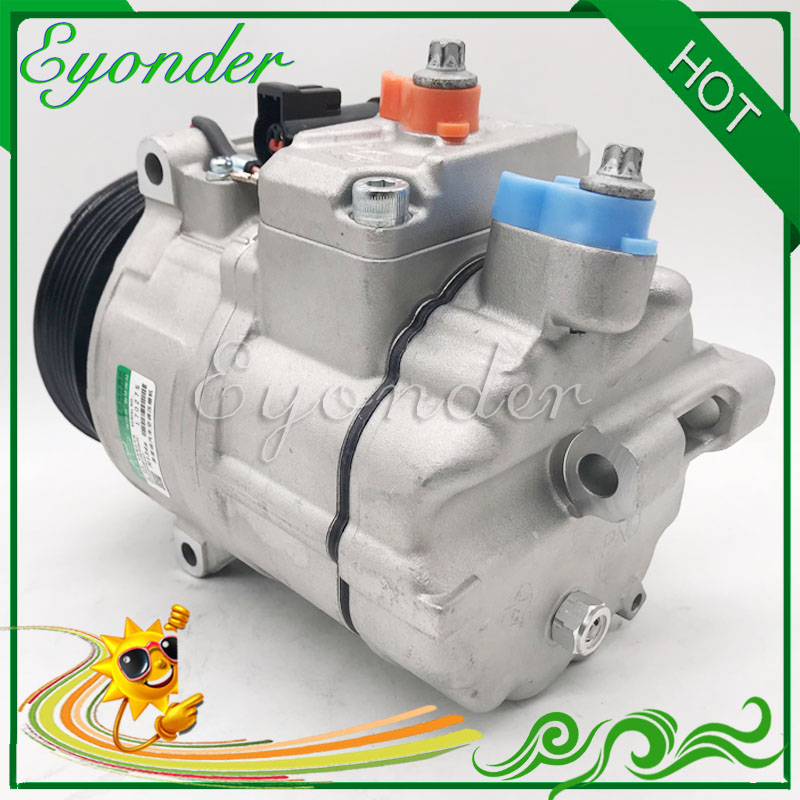 PXV16 AC Air Conditioning Compressor Cooling Pump for LAND ROVER RANGE ROVER Mk III LM 4