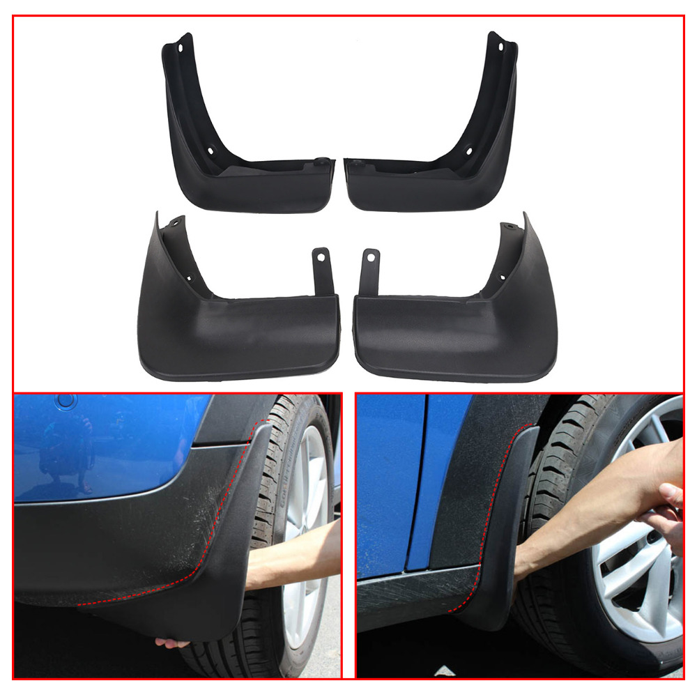 Car Exterior Mud Flaps for VW Beetle 2012-2017 For Volkswagen Beetle Front & Rear Splash Guards Mud Flap Mudguards Fender #RA018Car Exterior Mud Flaps for VW Beetle 2012-2017 For Volkswagen Beetle Front & Rear Splash Guards Mud Flap Mudguards Fender #RA018