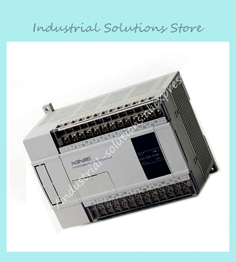 New Original 14point NPN input 10point transistor output XC2-24T-E 12 PLC AC220V with cable software new original 36point npn input 24point relay output xc2 60r e plc ac220v