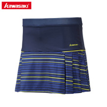 Kawasaki Brand Polyester Tennis Skorts Woman Pantskirt Anti-emptied Sports Netball Skirt for Badminton Running Fitness SK-172704
