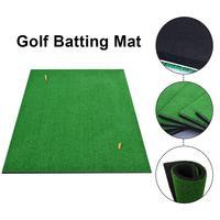 Portable Golf Mat Personal Practice Golf Training Aids Outdoor Hitting Pad Practice Grass Mat Game Golf Training Mat Grassroots