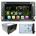 TOP Quility Tela Grande MP4 Android 4.4 6.2 2Din InDash Carro DVD Player Estéreo Rádio BT WiFi 3G GPS + CAMERA #1209