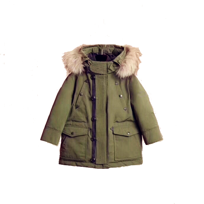 children winter down jackets Kids Duck Down Coat Baby jacket for boys parka Outerwear real fur Hoodies Boy Coat in late Oct
