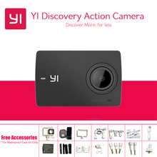 International Version Yi Discovery Action Camera 4K 20fps 8MP 16MP WIFI 1080P 60fps Waterproof 150 Degrees Yi Sports Camera