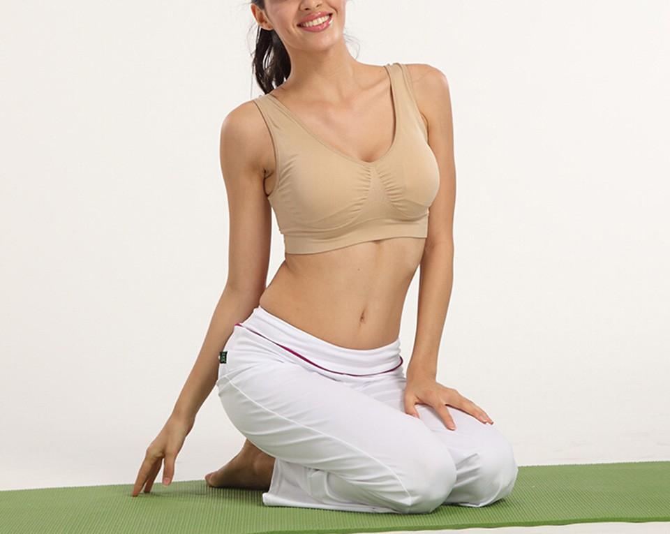 Fashion women padded bra seamless push up bra plus size brassiere backless bra 8