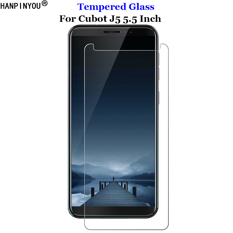 For Cubot J 5 Tempered Glass 9H 2.5D Premium Screen Protector Film For Cubot J5 5.5