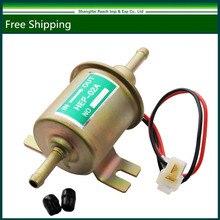 12V Universal Gas Diesel Inline Low Pressure Electric Fuel Pump HEP-02A
