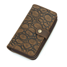 JMD High Quality Real Leather Wallet Mens Clutch Bag Credit Card Holder 8126-2R