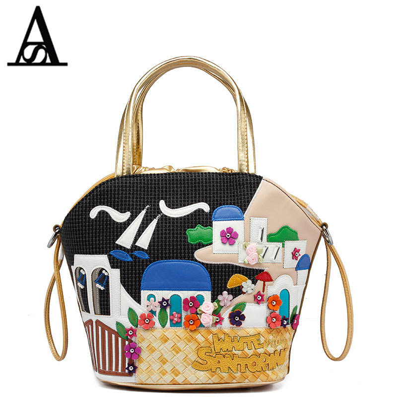 2016 Famous taly Handbag Women Canvas Bags Shoulder Bag Style Retro Handmade Bolsa Feminina Braccialini For Ladies Mexico Bags famous brand women canvas bags shoulder bag italy handbag style retro handmade bolsa feminina braccialini for ladies mexico bags