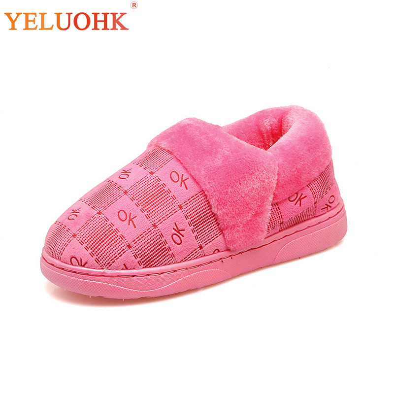 Home Shoes For Women Slip On Slippers Women Winter Shoes Plush Warm Indoor Winter Slippers Female bow slippers women winter warm slippers ladies flats shoes women indoor home slippers home shoes for women zapatillas mujer 2018