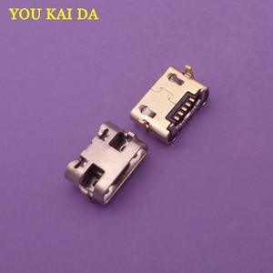 Image 1 - 200 stücke Für Alcatel One Touch Pixi 3 4G 5065 OT 5065 5065A 5065D 5065X OT5065 micro usb charging stecker stecker dock buchse anschluss