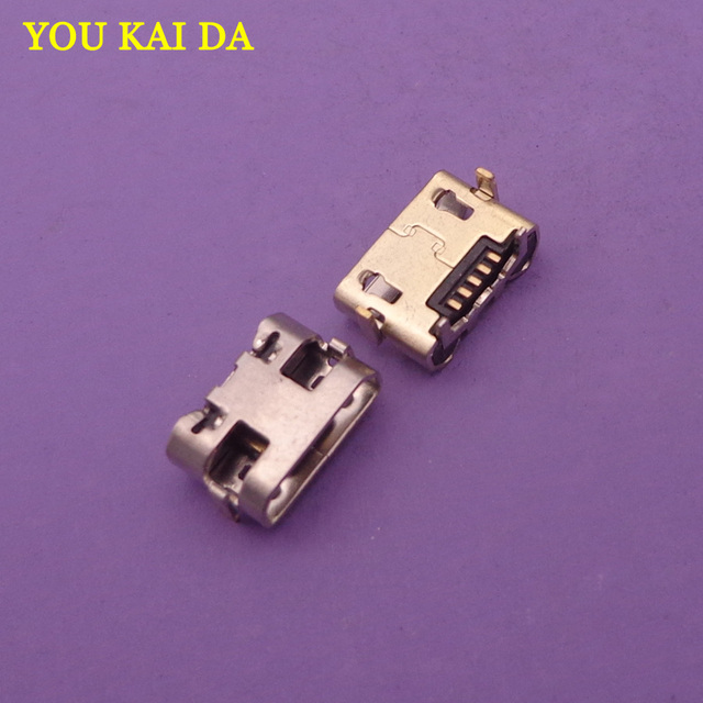 200 stücke Für Alcatel One Touch Pixi 3 4G 5065 OT 5065 5065A 5065D 5065X OT5065 micro usb charging stecker stecker dock buchse anschluss