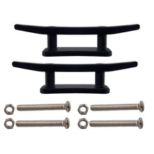 2 X 3″ Kayak Boat Canoe Mooring Deck Mount Anchor Cleat with screws and nuts