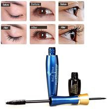 Brand Eyes Black Mascara 2 Head in One Natural Curling Eyelash Waterproof Eye Liner Makeup Set RP2