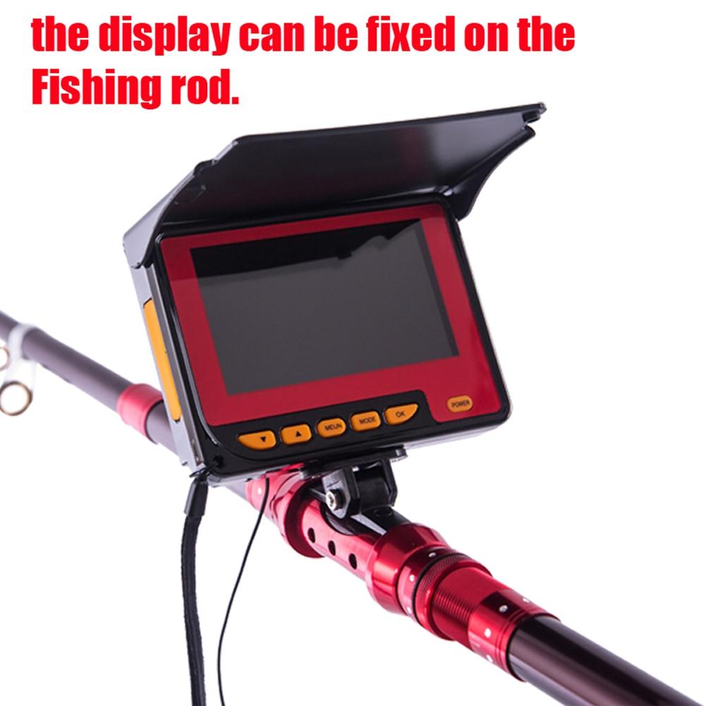 20m Professional Fish Finder DVR Underwater 4.3 inch large TFT Color ...