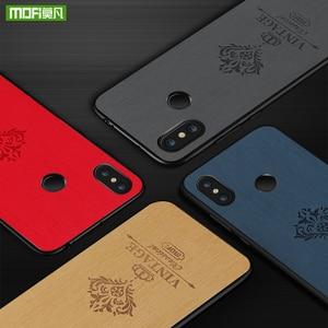 Image 5 - MOFi Original Back Case for Xiaomi Mi Max 3 Pro Hard PC Cover for Mi Max3 PU Leather Coque for Xiomi Max Luxury Housing