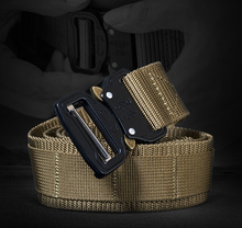 Sector Seven Rapid Release Belt Mens Tactical Heavy Duty Nylon Knitted Belt Military Combat Waist Belt EDC