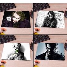 Batman Arkham City, Joker, Heath Ledger, ratón Gamer, ratón Mause, almohadilla de goma nueva, almohadilla de goma antideslizante