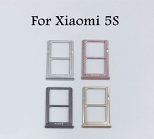New SIM Tray Sim Card Holder Slot used+100% Replacement replacements For Xiaomi 5S M5S Mi5S Free shipping +Tracking Code
