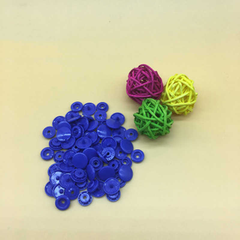 100//150//200 Sets T5 Plastic Resin Snaps Starter Buttons Buckle For Clothing New