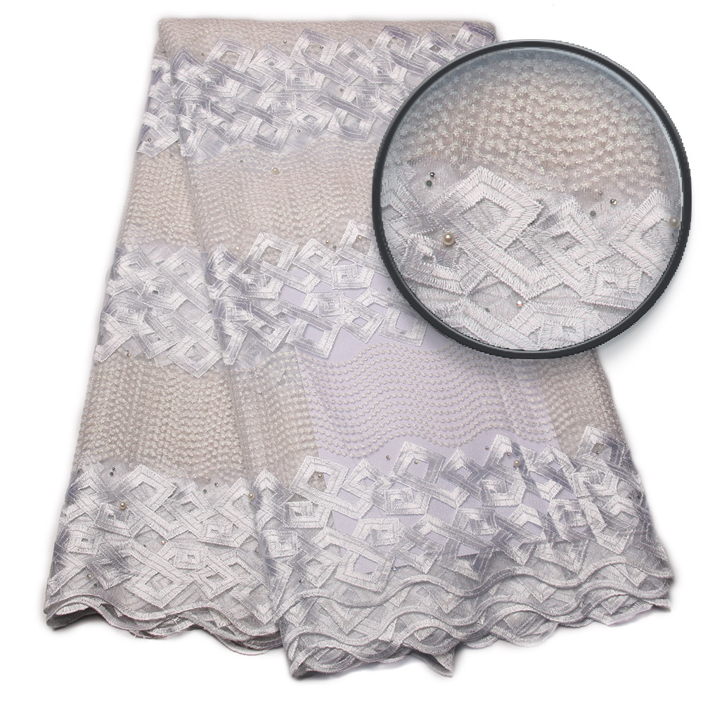 2018 nouveau design bonne qualité africaine tulle dentelle tissu pour nigérian robe de mariée africaine française net dentelle pour dames NA806B-1
