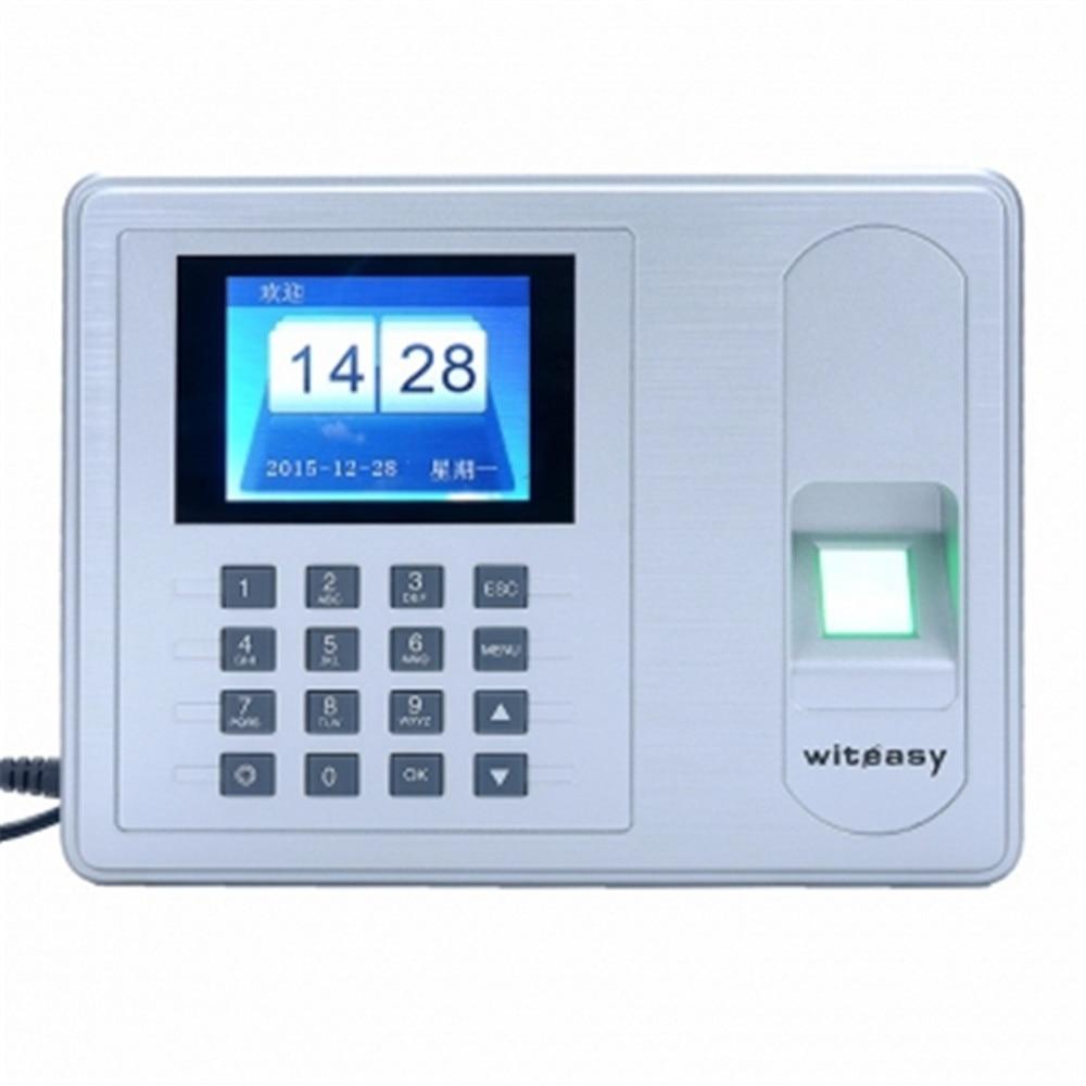 2.4 Inch TFT Monitor Free Drive Fingerprint/Password Time Attendance A6 2000user free drive fingerprint password time attendance a9