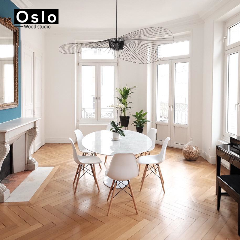 Dining Room Lamp: Suspension Lustre Hang Modern Vertigo Lamp Fiberglass