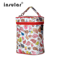 insular Nylon Stroller Thermal Insulation Bag baby Food Storage Accessories Nappy Diaper Changing Organizer Wheelchair Warmer