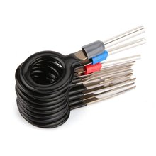 11pcs Car Plug Terminal Wiring Removal Key Connector Pin Fast Extractor Tool KFZ Stecker ISO Release Hot