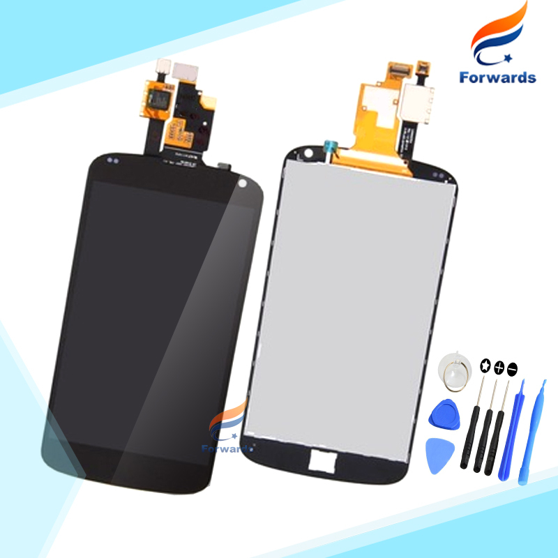 Brand new replacement parts for LG Nexus 4 E960 LCD screen display with touch digitizer + Tools assembly 1 piece free shipping brand new lcd for samsung s5 i9600 g900a g900f g900t screen display with touch digitizer tools assembly 1 piece free shipping