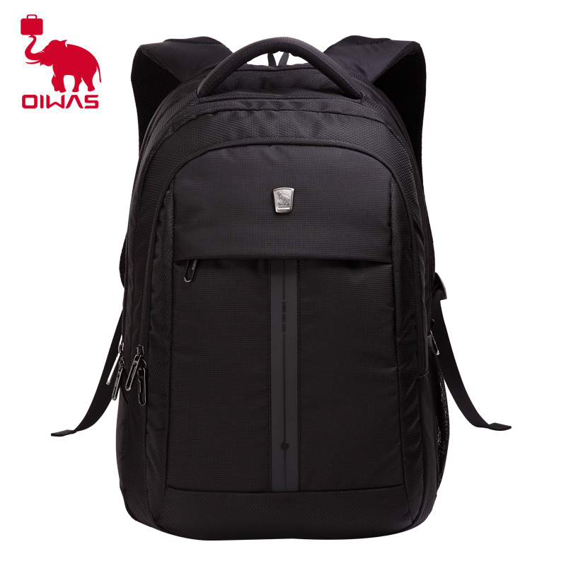 Oiwas Multifunctional Business Style Men Women Backpack Professional 15 Inch Notebook Computer Bag Schook Rucksack Black Ocb4148